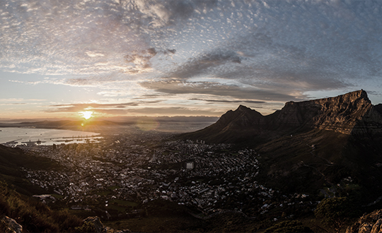 Beautiful Cape Town City Table Mountain